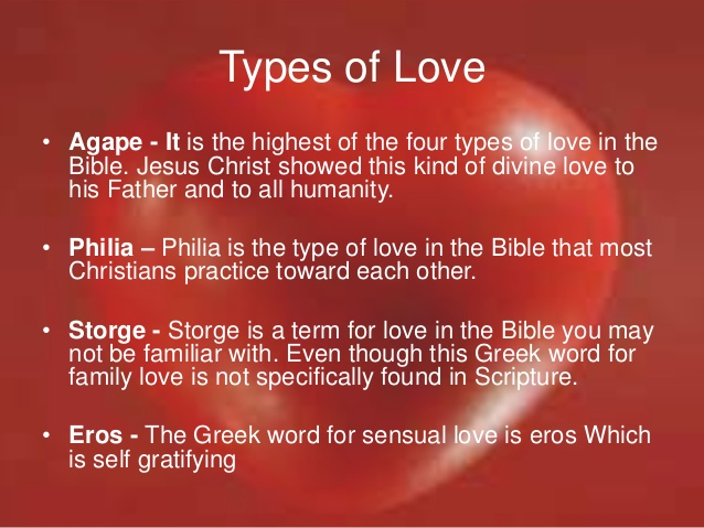 4 types of love